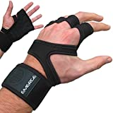 Emerge Pull up Guantes Crossfit - Protectores de Mano Forte única con Wrist Brace - Asas...