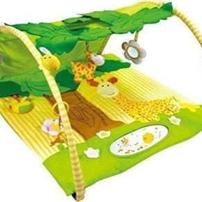 Alfombras de juego y gimnasio para bebés, mantas de actividades jirafa. Regalo bebé
