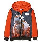 Star Wars Kylo Ren Red Saber Felpa, Rosso 18-1561TC, 5-6 Anni Bambino