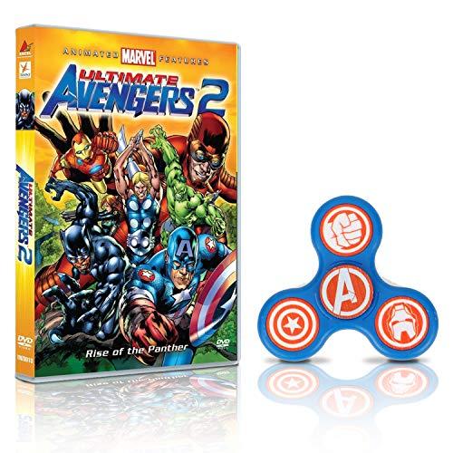 Marvel Ultimate Avengers Part 2 (Animated Movie) + Marvel Avengers (Ironman, Captain America, Hulk) Longest Spinning and Highest Quality Fidget Spinner