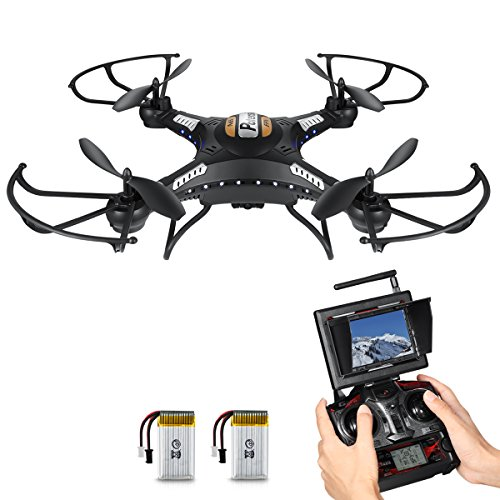 Potensic-F183DH-fonction-de-maintenir-laltitude-58GHz-4CH-6-Axis-Gyro-RC-Quadcopter-Drone-avec-camra-HD-360-degrs-Eversion-Fonction-FPV-Moniteur-noir