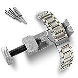 Orologio Utensile Del bicchieririni, magiyard Rimuovi maglie di braccialetto regolazione el Kit di attrezzi di riparazione con 3perni adicionales