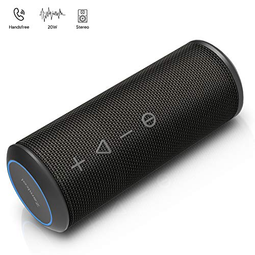 Altoparlante Bluetooth, Zamkol Wireless Speaker TWS & Micro-USB, Cassa 4.2 Bluetooth Speaker...