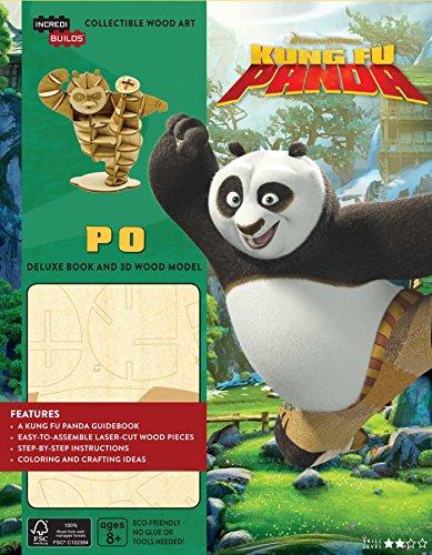 Dreamworks Kung Fu Panda Book and Model Set