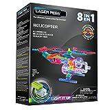 Laser Pegs - Jolzheli8-00000 - Power Base - 8 En 1 - Hélicoptère - 88 Pièces