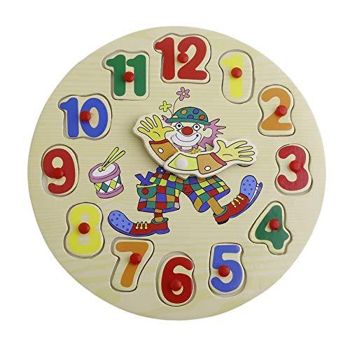 Peanutaoc Puzzle in Legno Giocattolo cognitivo Jigsaw Cartoon per Bambini Bambini educativo...