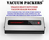 Vacuum Packers VS6601S Food Vacuum Sealer Machine with Stainless Steel Body for Heavy Duty