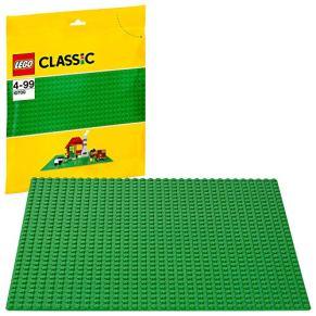 LEGO10700ClassicBaseVerdeJuguetedeConstrucción,JuegodeConstrucciónparaNiñosyNiñas+4años