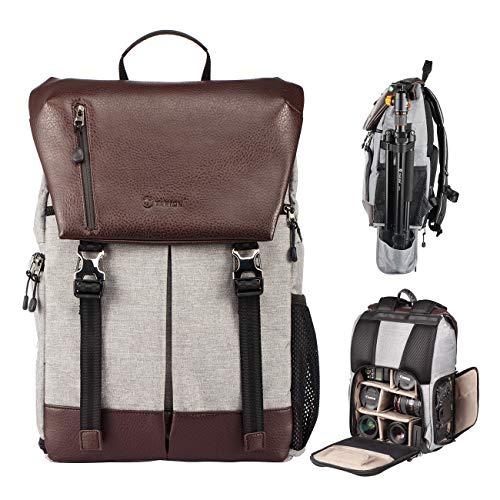 TARION RB-02 Kamerarucksack Kameratasche Wasserabweisend SLR Rucksack mit Zubehörfächer für Kameras Zubehör und Outdoor Sport Reise