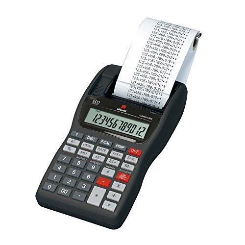 Olivetti Summa 301calcolatrice da tavolo stand verkorker