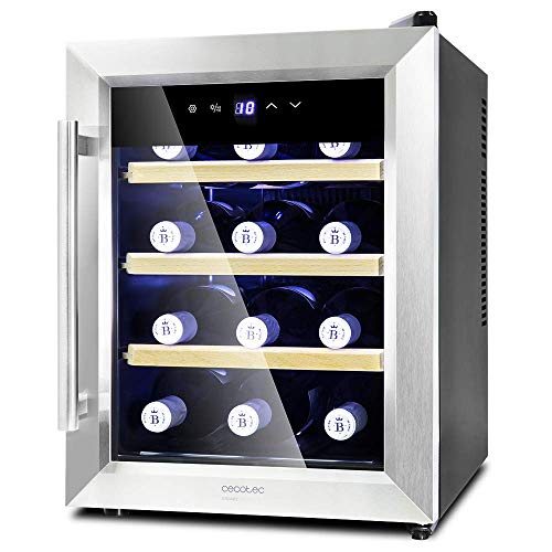 Enoteca Cecotec Grand Sommelier 1200 CoolWood 33L
