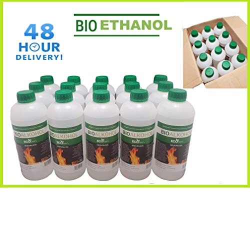 Premium BIOETHANOL Fuel for Fires, Free Next Business Day, 2hr ETA Delivery to Mainland UK for Orders Placed Before 3pm. Bio Ethanol Liquid Fuel for bioethanol Fires.from £1.99/L (2 Litre)