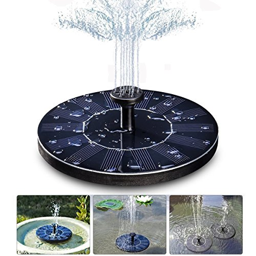 fontaine solaire gochange 7v 1 4w pompe eau solaire aucun plantes batterie ou electricit. Black Bedroom Furniture Sets. Home Design Ideas