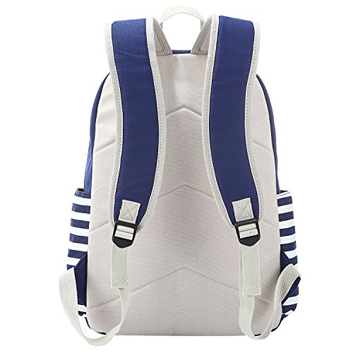 ea7134cc26b6 S-ZONE Preppy French Breton Nautical Striped Backpack Rucksack Marine  Sailor Navy Stripy School Bags for Women Ladies Girls - SixtySomething -  Over Sixty ...