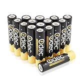 OdecAAANi-MH Akku,16Stück Wiederaufladbare Batterien (1200 Zyklen, Typisch 1000 mAh, 1,2 V)