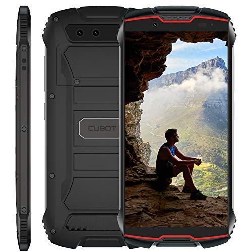 Cubot Kingkong Mini 4G Outdoor Smartphone ohne Vertrag 4 Zoll QHD Display Wasserdicht Stoßfest und Staubdicht 32GB interne Speicher 13.0 Megapixel Kamera Android 9.0 (Rot)