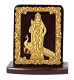 Eknoor Car Dashboard Idol- Super Carving - Lord Swami Kartikeya Ji with Peaco.