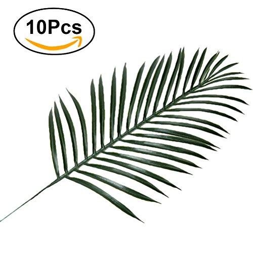 Winomo feuilles tropicales feuille de palmier - Feuille de palmier artificielle ...