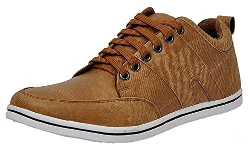 Shoes T99 men's Tan sneakers (8)