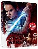 Star Wars Viii-Gli Ultimi Jedi (Steelbook)(3D+Br+Disco Bonus)