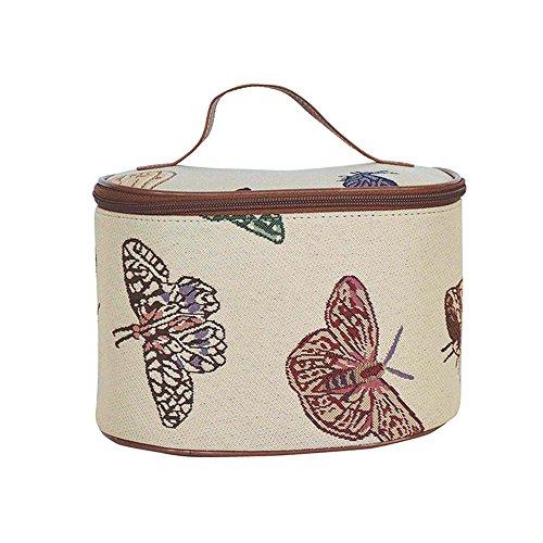 Neceser Signare para mujer bolso de aseo estuche bolso de maquillaje Mariposa