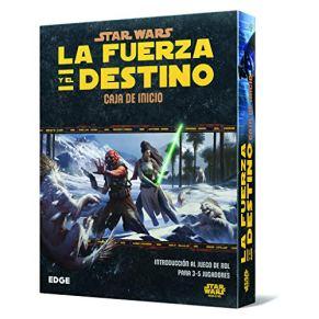 Star Wars: La Fuerza y el Destino - Caja de inicio, juego de mesa (Edge Entertainment EDGSWF01)