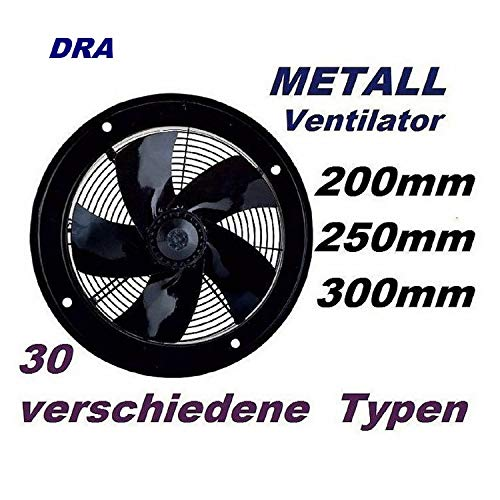 200mm Industriale Ventilatore, industriali Ventilatori Ventilacion Ventola Estrattore Muro, Pannelo,...