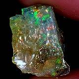 05.40CTS.100% naturale etiope opale di fuoco multi Facet Rough Specimen Gemstone