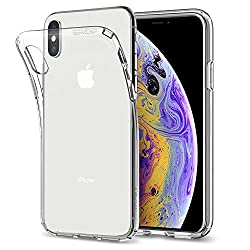 Kaufen Spigen 057CS22118 Liquid Crystal Schutzhülle Case für iPhone XS / iPhone X, Transparent (Crystal Clear)