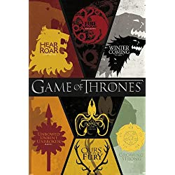 Game of Thrones Poster Coat of Arms (61cm x 91,5cm)