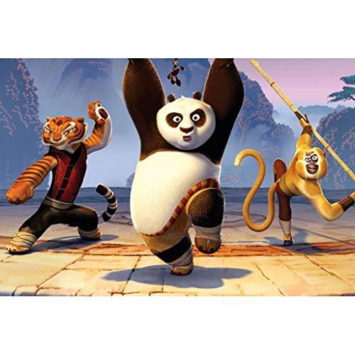 YC-PUZZLE 300/500/1000/1500 Pezzi Puzzle Film Kung Fu Panda 3 (Color : D, Dimensione : 1500pcs)
