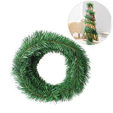 Noël Décoration d'arbre Câblé Guirlande, 5.5M Artificielle Guirlande De Rotin Utilisé Pour Fenêtre Porte De Garde-corps Décoration De Sapin De Noël Pour Créer Une Ambiance Festive