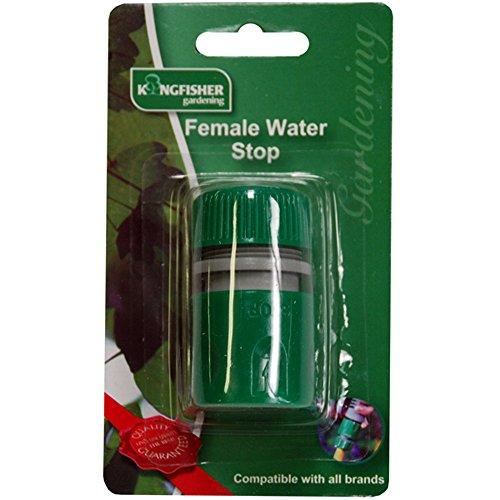 2x snap acción hembra parada de agua