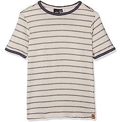 NAME IT Jungen T-Shirt Nitneville SS Reg Top M Lmtd, Mehrfarbig (Ombre Blue), Gr. 146