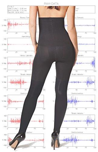BODY WRAP Collant Soins Corps Taille Haute - Vu à la TV - Brûle Graisse - Tonification Musculaire Perte de Poids - Maintien - Exercice Prêt-... 23