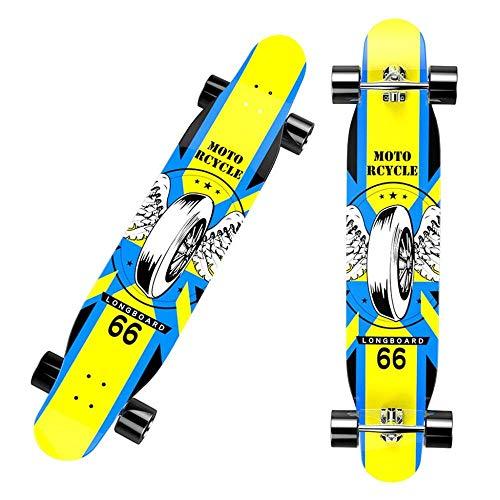 SHLYXY 46 pulgadas Longboard Skateboard Dance Board Longboard Skateboards Adulto Longboard Stand...