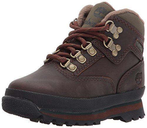 Timberland Unisex-Kinder Euro Hiker Chukka Boots, Braun (Medium Brown Full...