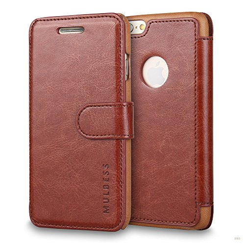 Mulbess Cover Libro iPhone 6s / iPhone 6,Custodia Portafoglio iPhone 6s / iPhone 6, Custodia in...