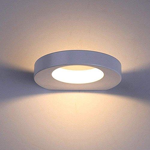 Lanfu 10W LED Wandlampe Warmweiße Moderne Designerleuchte Wandleuchten, 180*157*30MM
