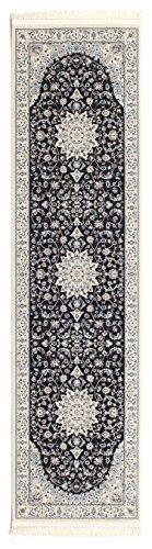 Tappeto Nain Emilia - Blu scuro 80x300 Tappeto Orientale, Passatoia