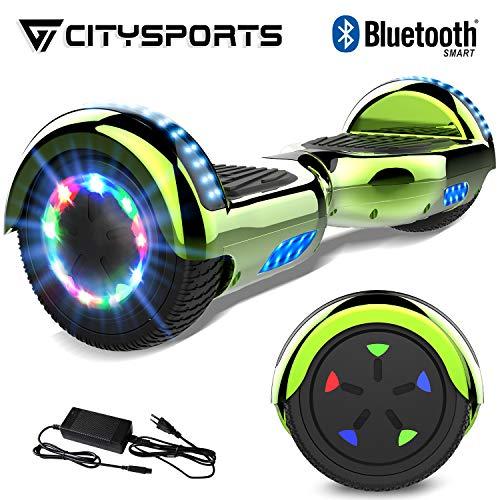 CITYSPORTS Scooter Elettrico 6.5 Pollici, Bluetooth Scooter Auto bilanciamento, Scooter Elettrico...