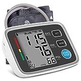 Tensiomètre Bras Électronique, Professionnel Tensiomètre Automatique avec Grand Écran LCD Mémoire de 180 pour 2 Utilisateurs, Détection de...