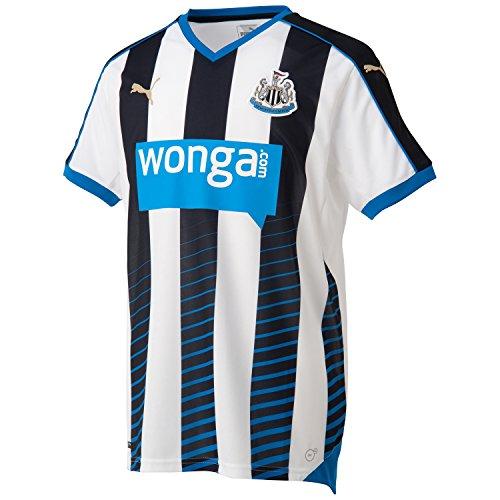 Puma Newcastle Home - Camiseta de equipación de fútbol para hombre, color Negro, talla M