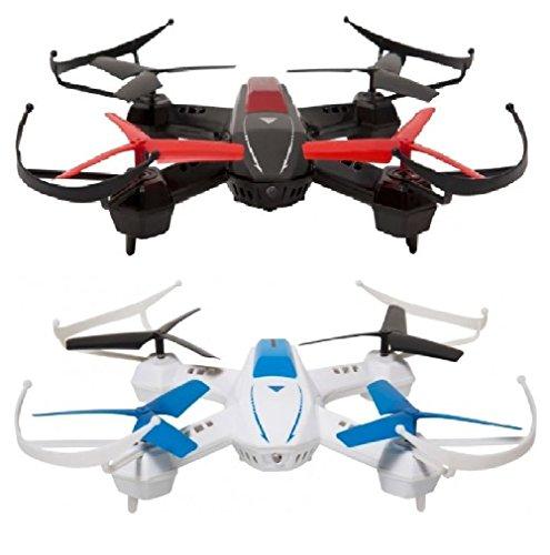 Goclever GCDSF Droni per Combattimenti DRONE SKY FIGHTERS, Nero/Bianco