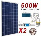 Pannello Solare Fotovoltaico a Energia Solare 500W, Polycrystalline