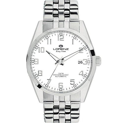 Orologio Uomo Lorenz Easy Time Automatico Bianco