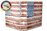 Motiv Akten Ordner Bedruckt 60mm DIN A4 Vintage Flagge USA