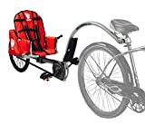Weehoo Kids' IGO Turbo Trailer Tagalong Bike, Red, 4-9 Years
