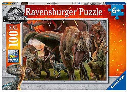 Ravensburger Jurassic World - Puzzle 100 Pezzi