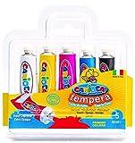 Carioca - Blister con 5 témperas, 12 ml (K72550005)